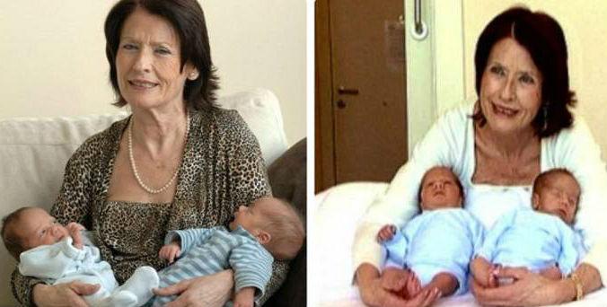 В Испании 64-летняя женщина родила здоровых близнецов