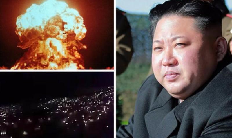 Северная Корея готовится к войне. На улицах столицы разрываются эвакуационные сирены. Граждане эвакуируются