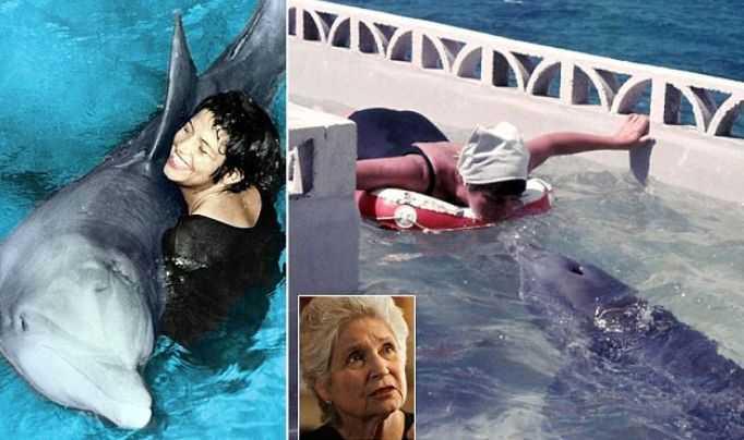 Участница эксперимента НАСА впервые рассказала о своем романе с дельфином