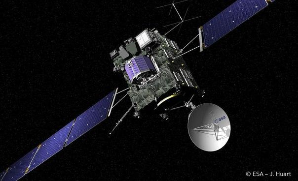 Розетта закончит миссию, разбившись об поверхность кометы Чурюмова-Герасименко