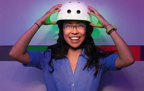 Велосипедный шлем прочтет ваши мысли
