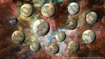 Наша галактика содержит более 100 млн планет подходящих для жизни