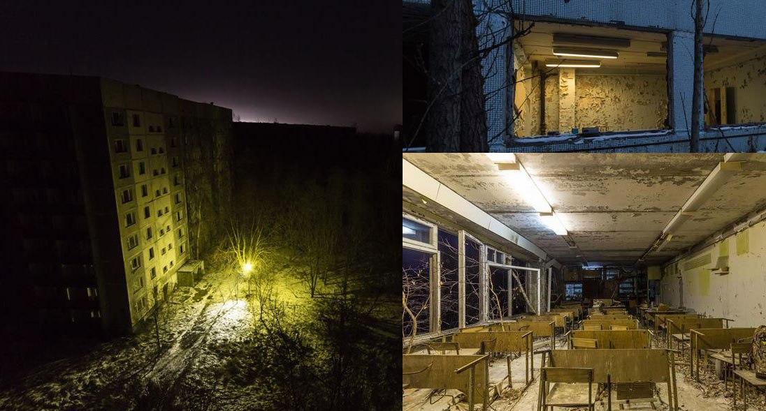 В Чернобыле снова зажегся свет