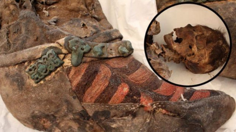 Ученые разгадали тайну мумии в «кроссовках»