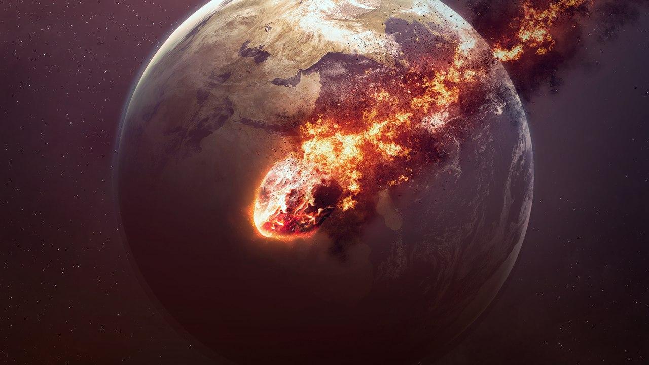 Ученые представили сценарий падения смертоносного астероида