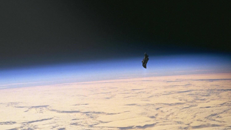 Спутник «Черный рыцарь» наблюдал за полетом ракеты Falcon 9