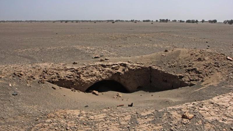 В Иране после песчаной бури обнаружили таинственный древний город