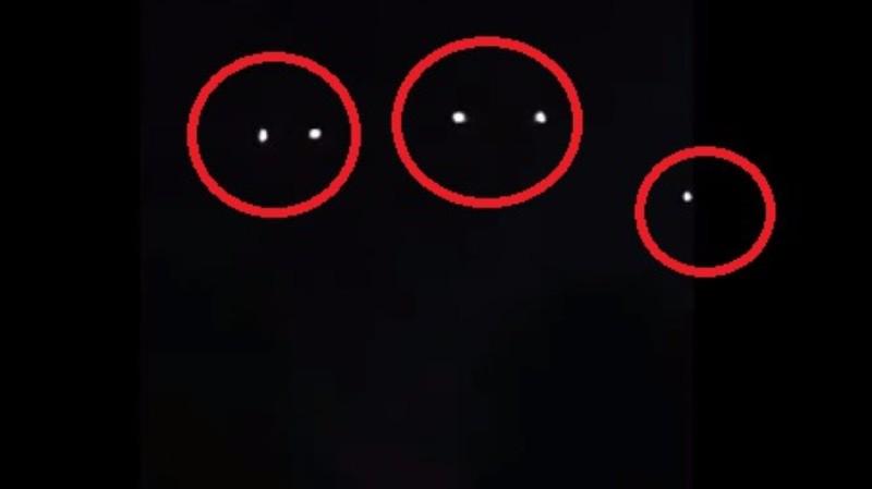 В Южной Каролине НЛО разделился на пять объектов