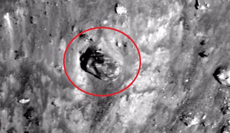 На Луне обнаружили старый танк