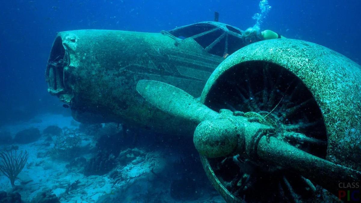 Разгадана тайна исчезновения пяти самолетов в Бермудском треугольнике