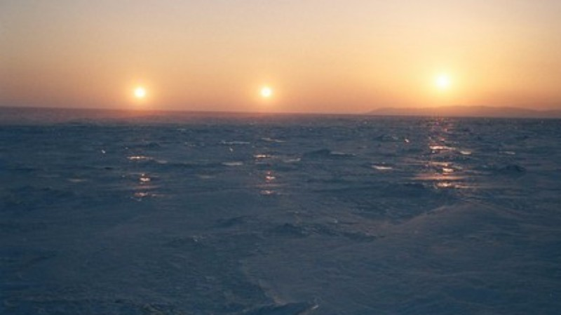В древности нашу Землю освещали три Солнца