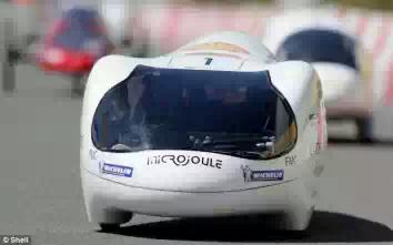 Микроджоуль — самый экономичный автомобиль в мире