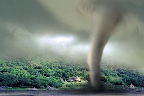 В Южной Корее впервые в истории зафиксирован торнадо