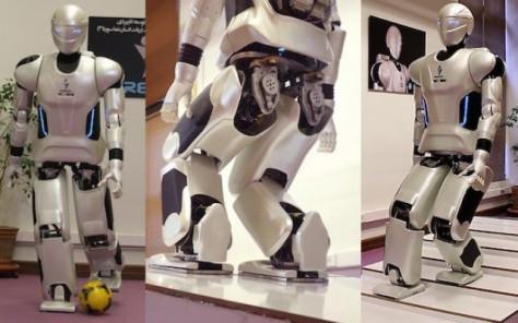 Иран представил человекоподобного робота Surena III