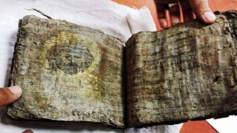В 1000-летней Библии, найденной в Турции, есть изображения Иисуса Христа