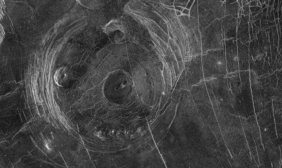 Ученые разгадали загадку «корон» Венеры