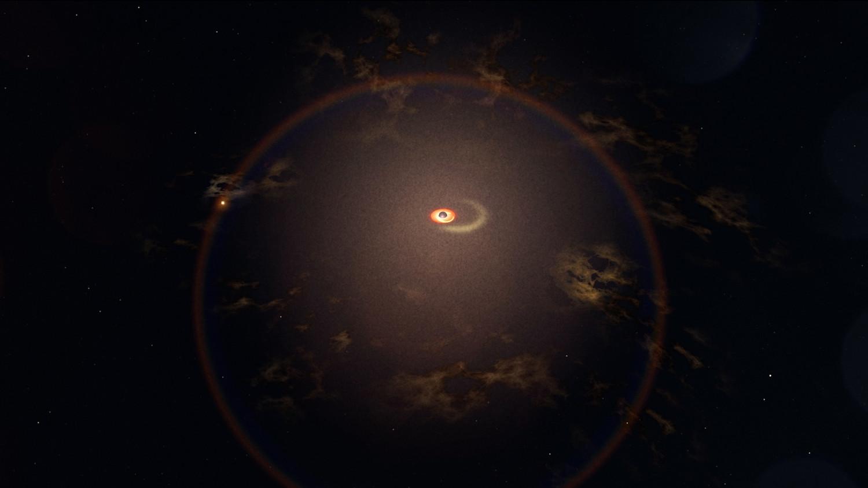 Найдена черная дыра, которая каждые 114 дней откусывает кусок звезды