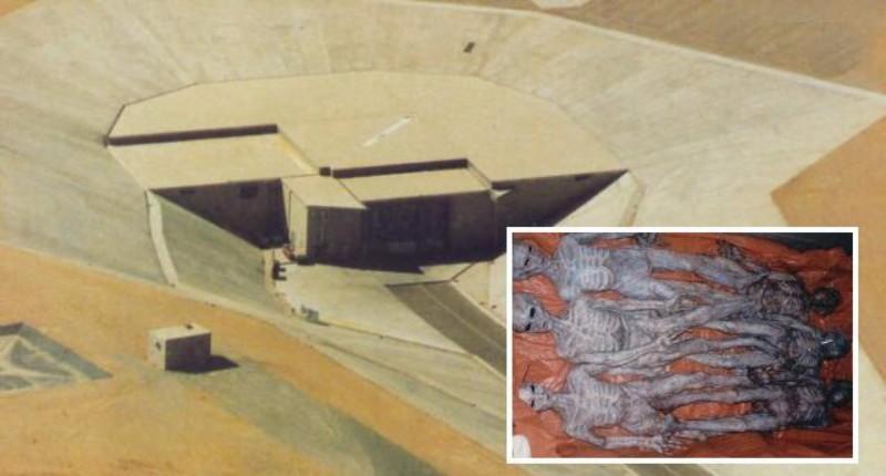 В подземном бункере США скрывают тела инопланетян