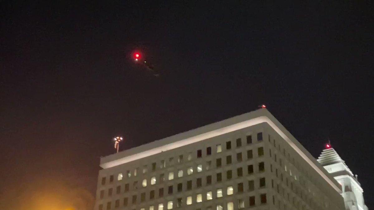 Над Лос-Анджелесом летали военные вертолеты: что случилось