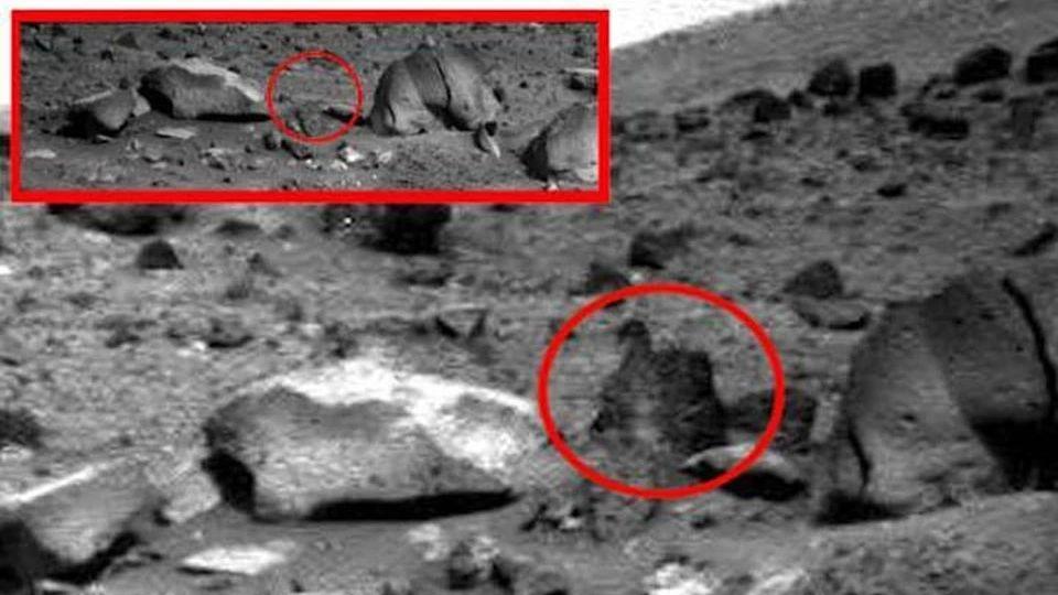 На Марсе заметили камни, которые прыгали с одного места на другое