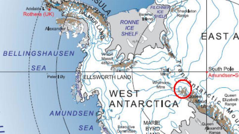 В Антарктиде найдены останки крошечных людей возрастом 600 миллионов лет