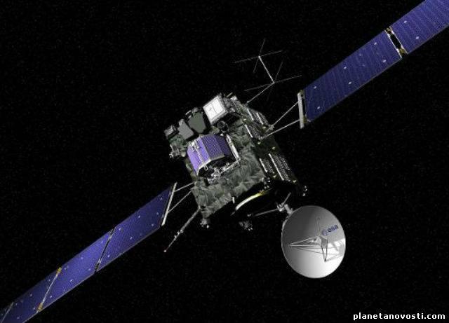 Зонд ESA для исследования поверхности кометы