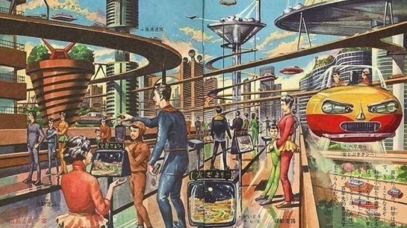 Взгляд в будущее из прошлого: каким видели наш мир сто лет назад