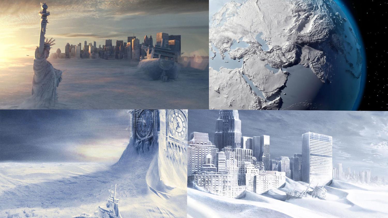 Поверхность Земли начала резко охлаждаться