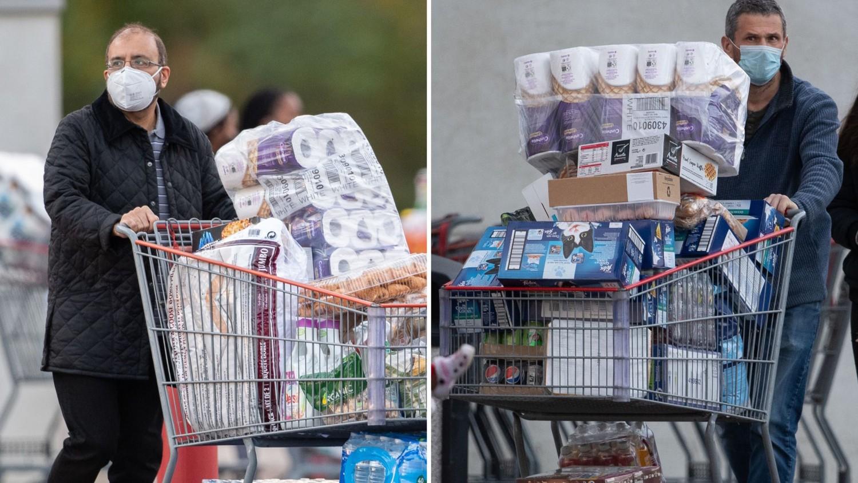 В Лондоне люди массово скупают туалетную бумагу и рис: видео происходящего