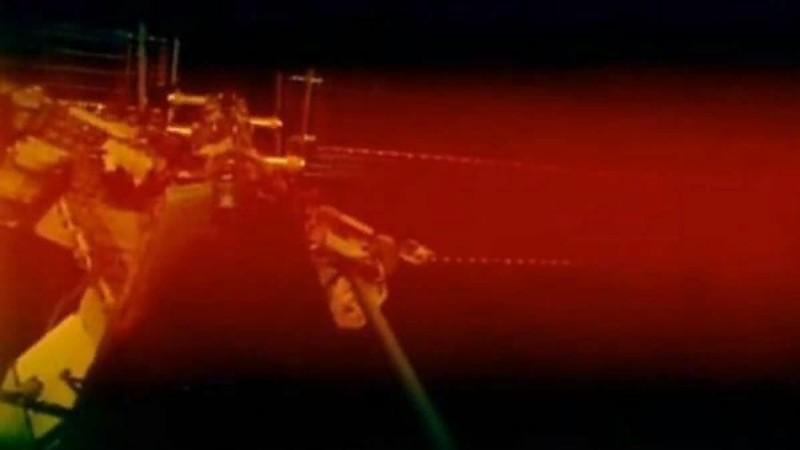 МКС погрузилась в таинственный туман красного цвета