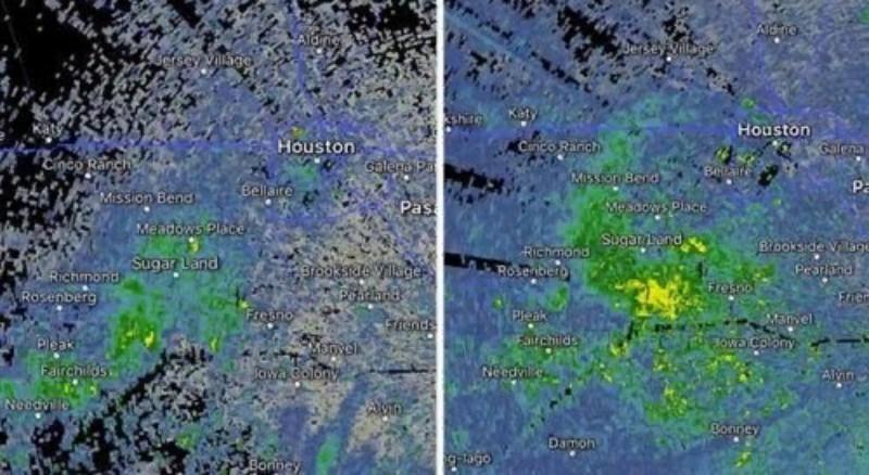Над Техасом образовалась гигантская зеленая аномалия