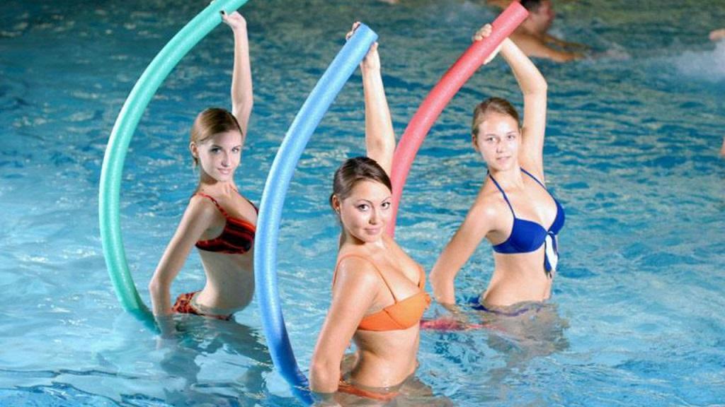 Аквааэробика — самый приятный фитнес для похудения!