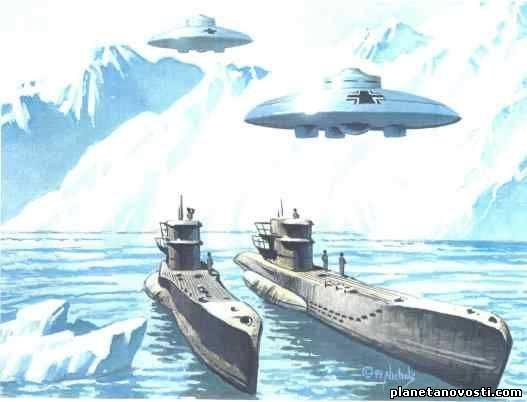Антарктическая «База-211» — Фабрика летающих тарелок