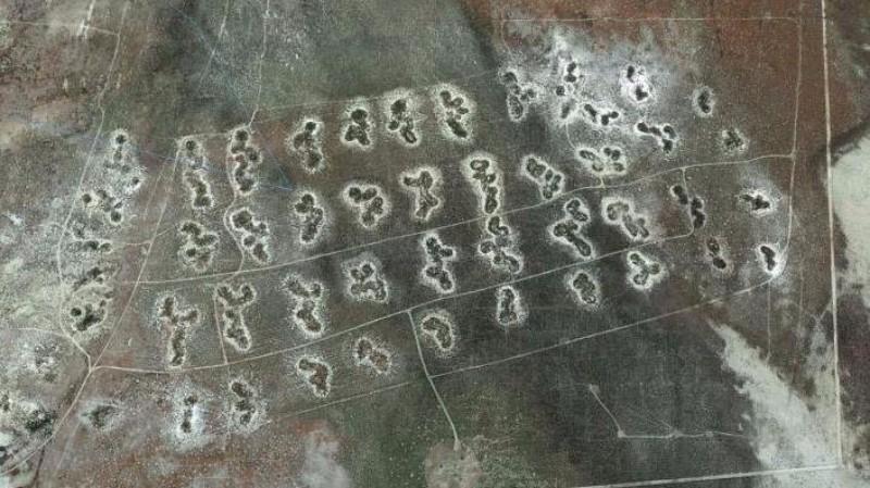 На картах Google Earth нашли загадочные фигуры