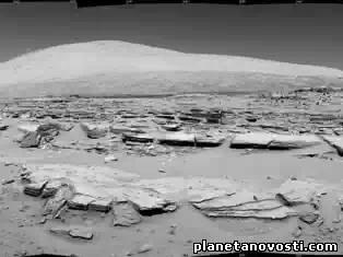 Curiosity прошел мимо марсианской скалы Junda