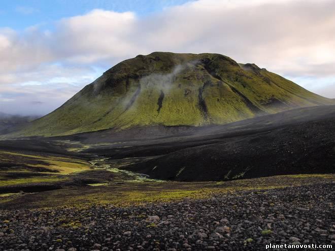 Исландский вулкан Гекла может скоро пробудиться