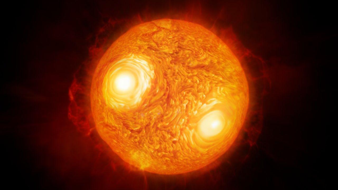 Еще один близкий к Земле красный гигант начал стремительно терять яркость