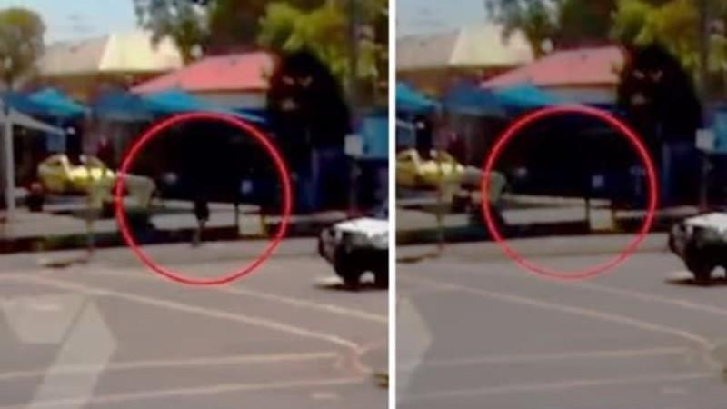 В Австралии мужчина за секунду до взрыва растворился в воздухе