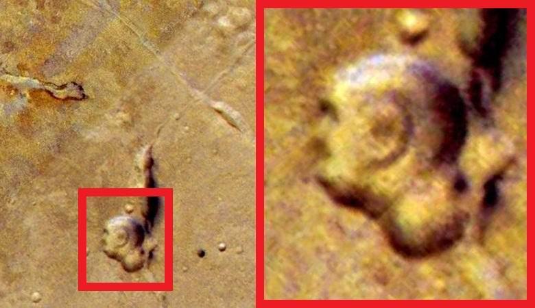 На Марсе обнаружили отчетливое изображение Будды