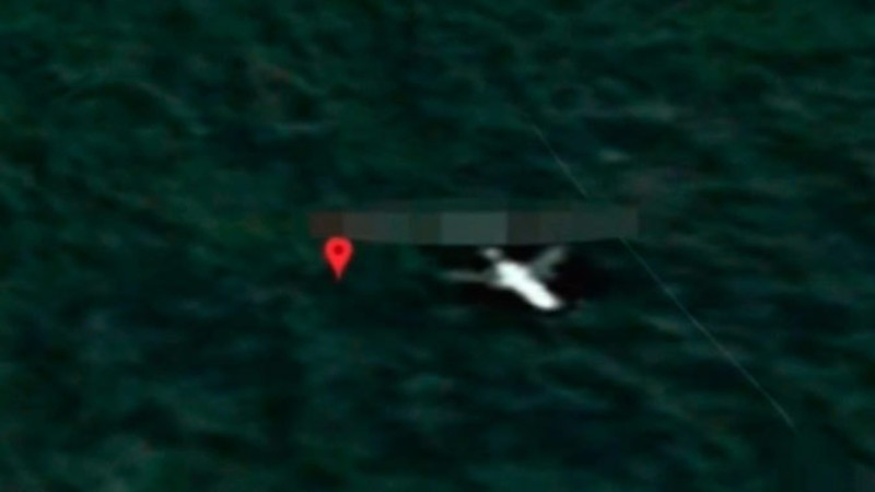 На панорамах Google нашли малайзийский Боинг MH370