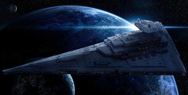 Самая точная модель имперского крейсера собранная из lego