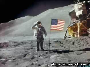 Люди были на Луне не первыми!