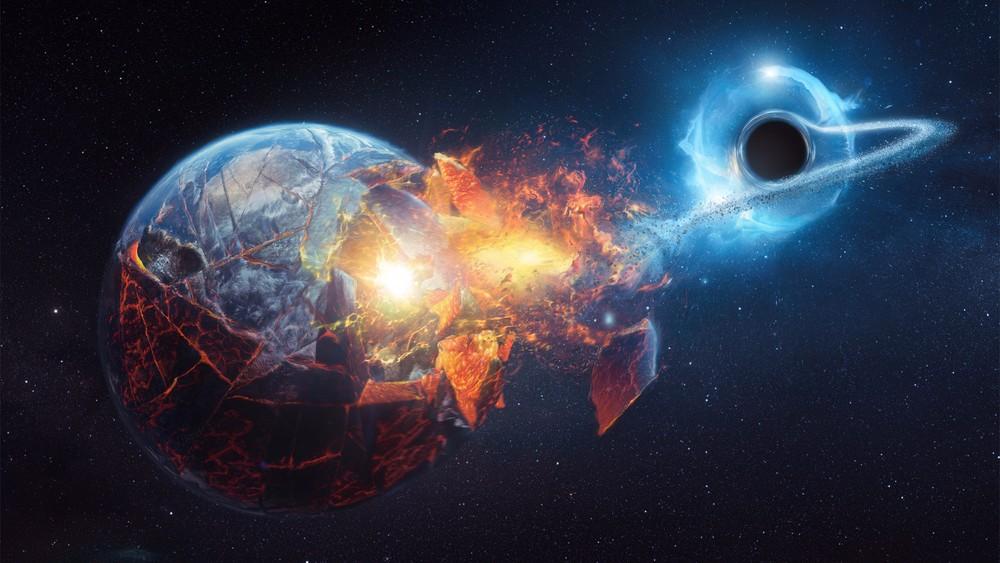 Возле Земли может образоваться черная дыра