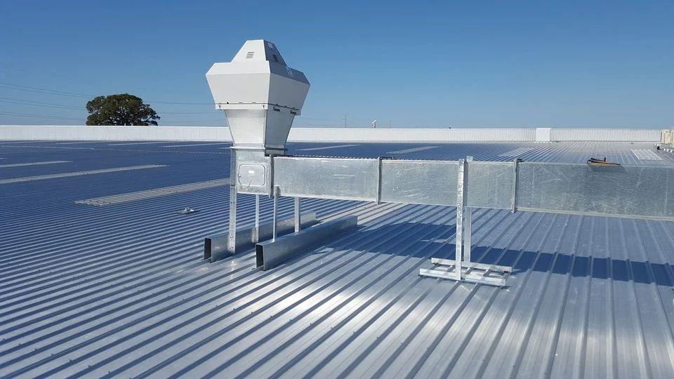 Этапы монтажа вентиляционной системы в промышленных зданиях