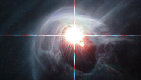 Телескоп «Хаббл» сделал фото далеких сияющих звезд