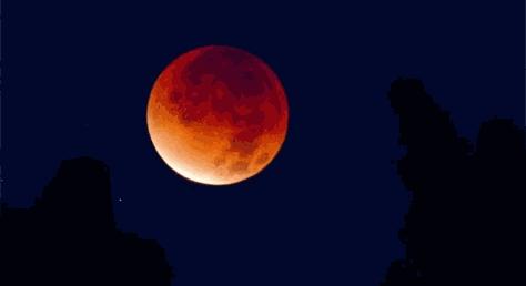 4 апреля 2015 года произойдет самое короткое затемнение Луны