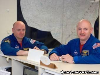 Влияние космоса на здоровье оценят с помощью астронавтов-близнецов