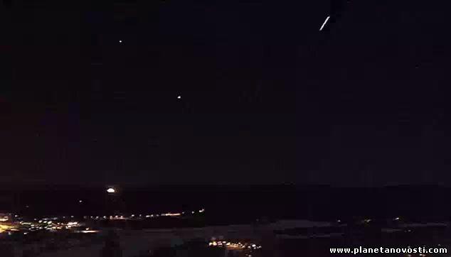 В небе над Квинслендом был замечен гигантский метеорит