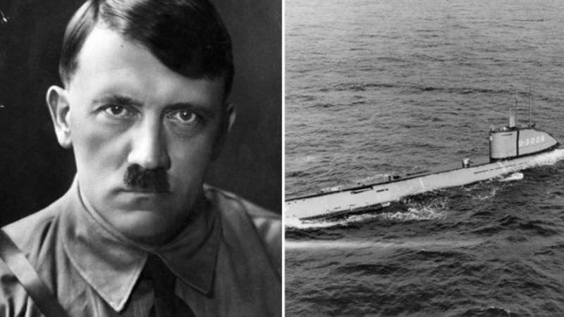 Найдена подлодка, на которой сбежал Гитлер
