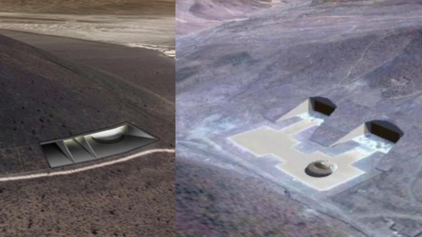 На спутниковых снимках обнаружена секретная база США